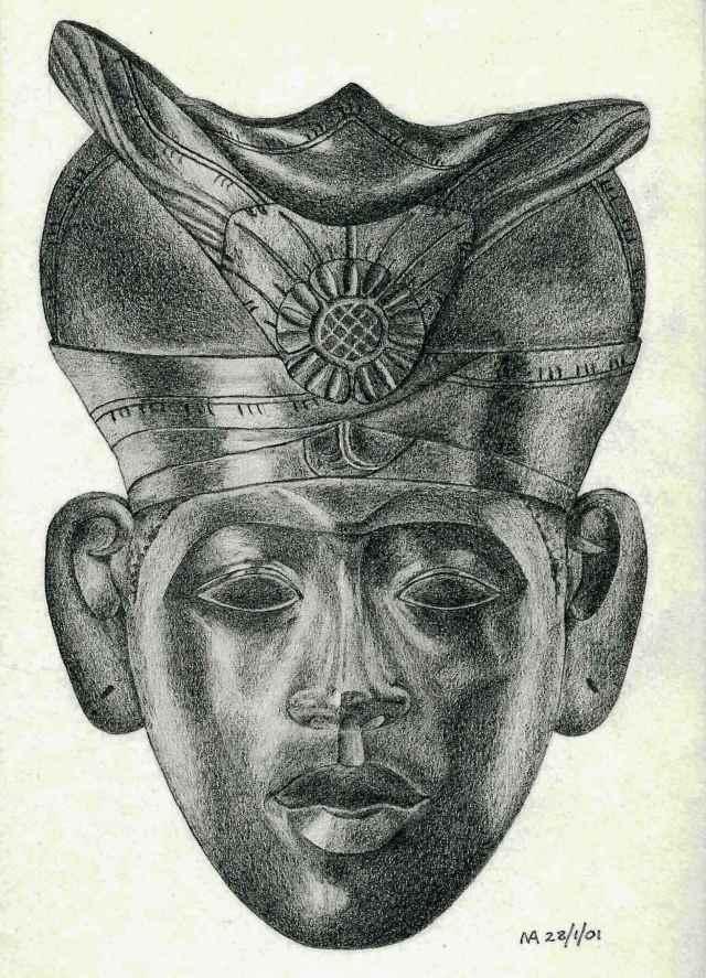 Balinese mask drawing MA - Copy DONE