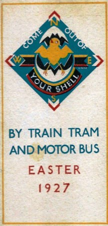'By Train Tram and Motor Bus' Easter 1927