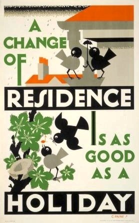 Change of Residence 1929