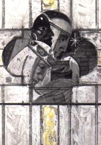 Sir John Bailey roughs Three Kings
