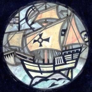 Drake's Drum window design