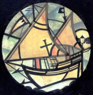 Drake's Drum window design 4