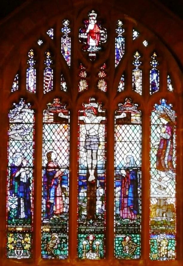 Troon St. Ninians Mackie window