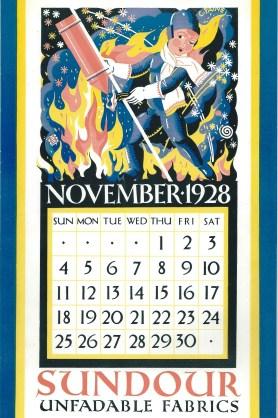Sundour Calendar November 1928 2