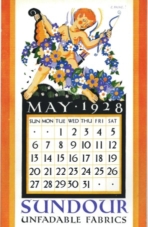 Sundour Calendar May 1928 1