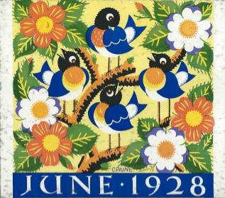Sundour Calendar June 1928 2