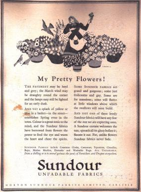 A My pretty flowers Sundour ad