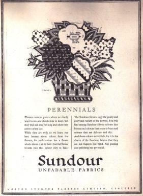 A Perennials Sundour ad