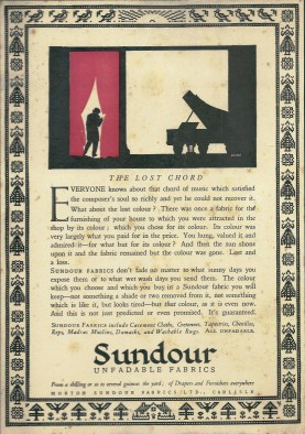 The Lost ord Sundour ad
