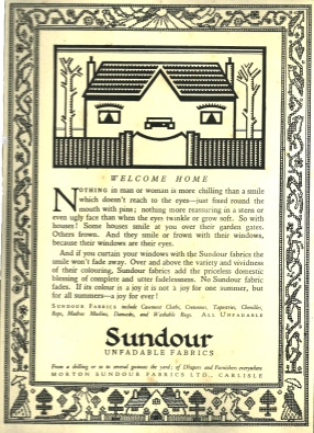 Welcome Home - Sundour ad