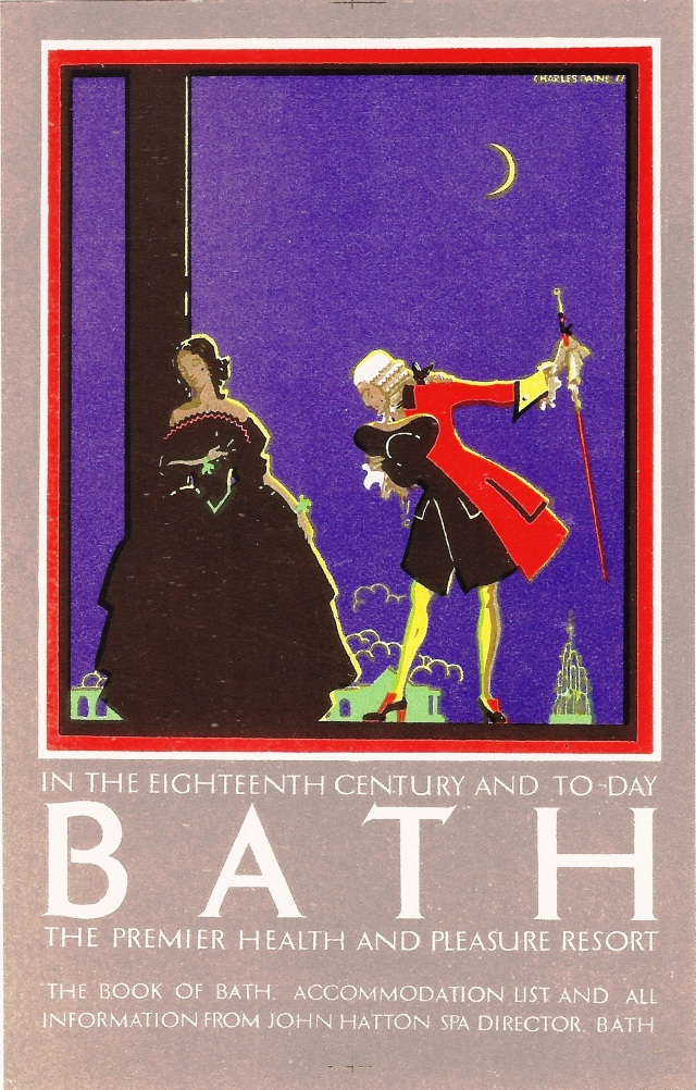 Bath 1923 Show Card