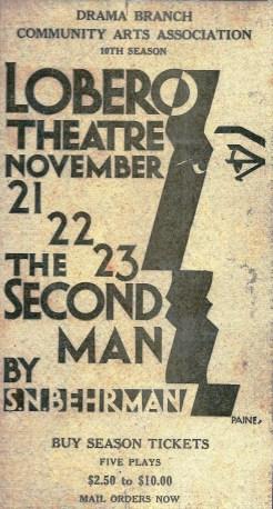 Lobero Theatre 10th Season - The Second Man