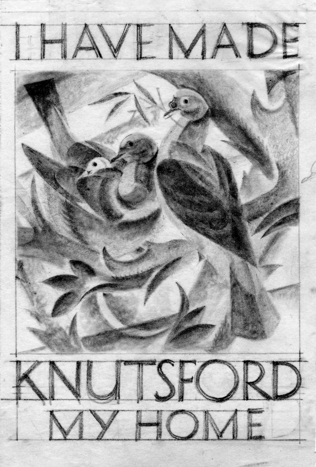 Pencil Study for Knutsford Poster
