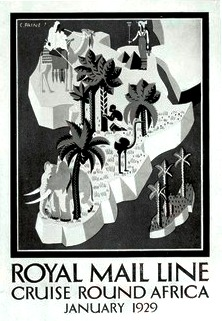 Royal Mail Cruise Round Africa folder cover - Copy