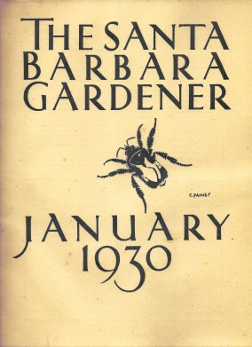 Santa Barbara Gardener January 1930