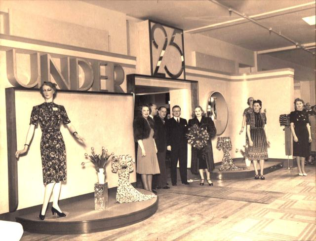 Welwyn Store Opening 1939 Paine 3rd from left