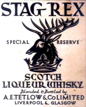 2 Stag Rex Scotch Whiskey - Paine