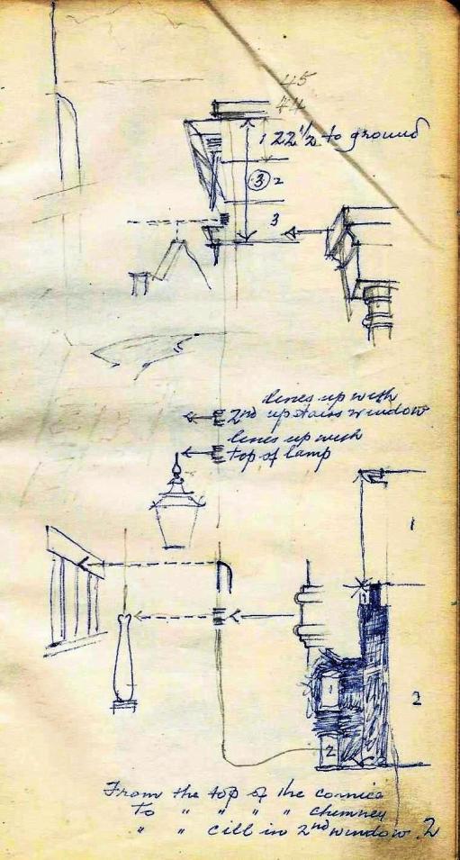 A Courtyard watercolour sketch (3) - Copy