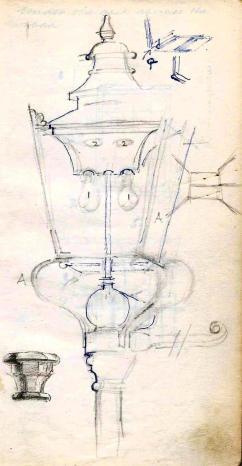 Courtyard watercolour sketch (1)