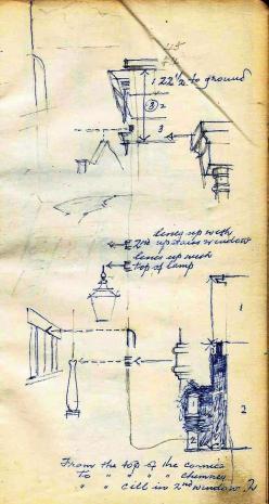 Courtyard watercolour sketch (3)