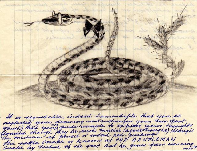 Paine as a rattlesnake