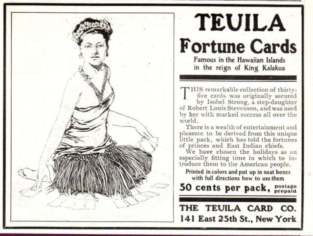 Teuila Fortune Telling cards