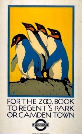 London Zoo CP 1921 (2)